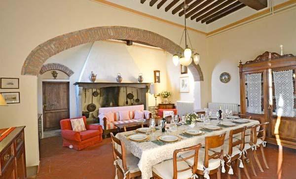 Ferienhaus Italien Mit Pool Für 14 Personen In Cortona   Wohnzimmer 2