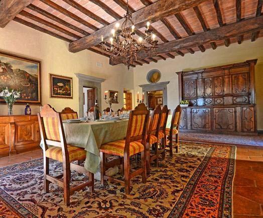 Schön Ferienhaus Italien Privat Für 20 Personen In Londa   Esszimmer