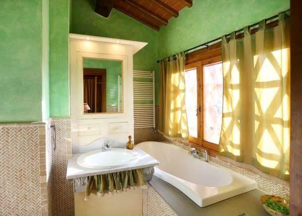 Ferienhaus Italien Privat Für 4 Personen In Reggello   Badezimmer