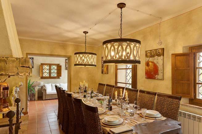 Finca Italien Für 12 Personen In San Gimignano | Ferienhaus Italien,  Esszimmer