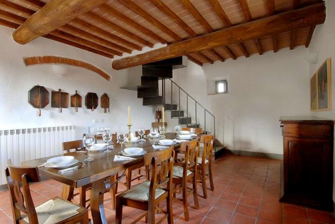 Urlaub Mit Hund Italien, Ferienhaus Für 10 Personen In Casole Du0027Elsa    Esszimmer