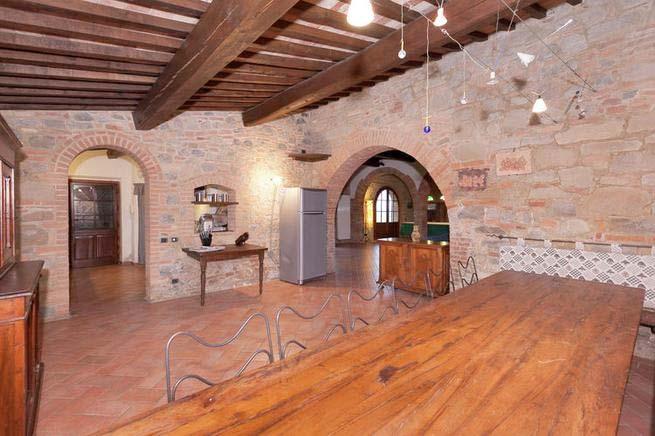 Urlaub Mit Hund Italien, Ferienhaus Für 10 Personen In Chianni   Esszimmer